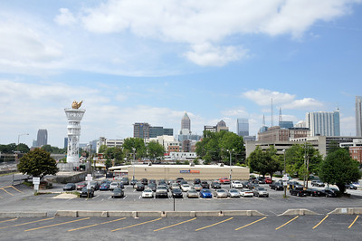 VIEW OF ATLANTA FROM THE VARSITY